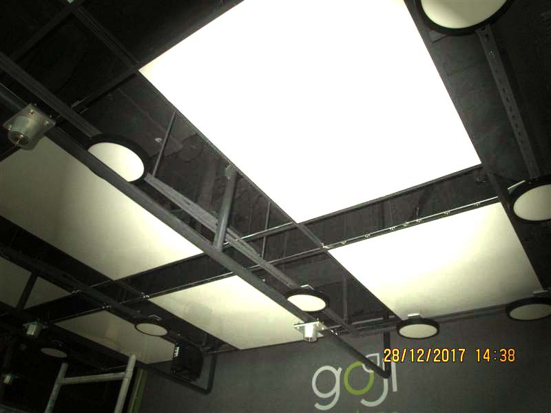 ceiling heating panels