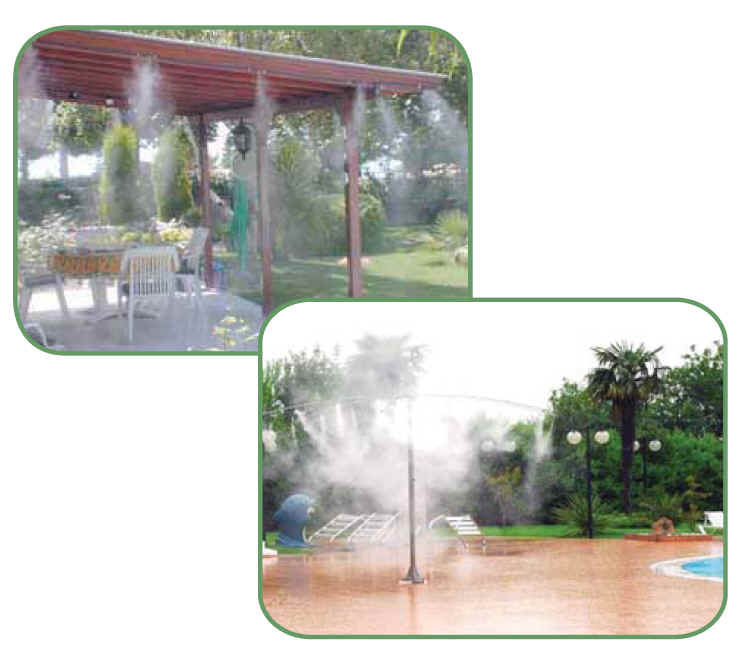 water mist applications