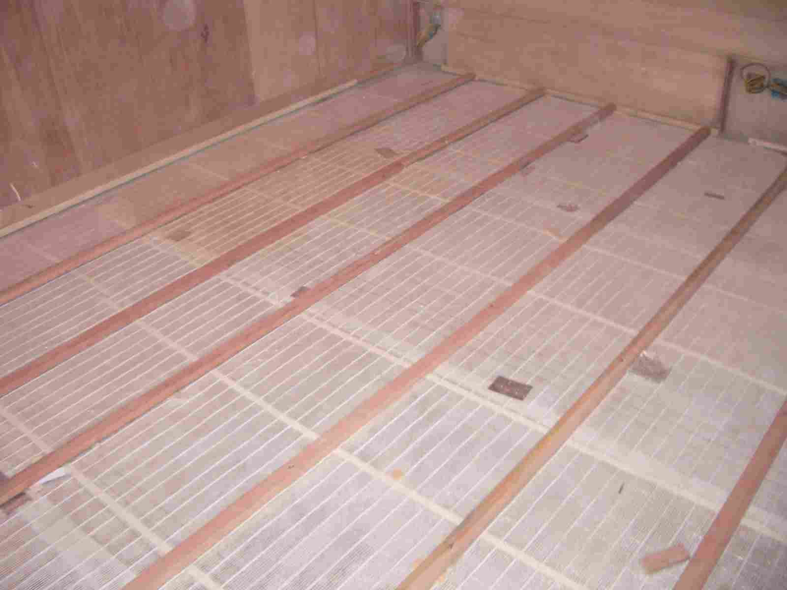 heating system, under floor warming, heated floor, heating mat, heating cable, heting elements